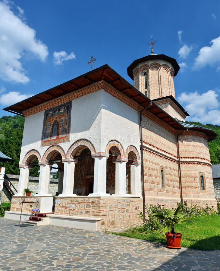 Ορθόδοξο μοναστήρι από Polovragi στοκ εικόνες με δικαίωμα ελεύθερης χρήσης