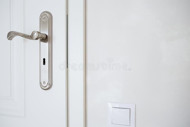 Οριζόντια άποψη door-handle στοκ φωτογραφίες με δικαίωμα ελεύθερης χρήσης