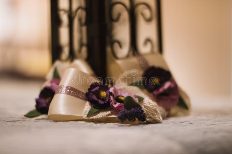 Ορισμένα γαμήλια κομμάτια στοκ εικόνα με δικαίωμα ελεύθερης χρήσης