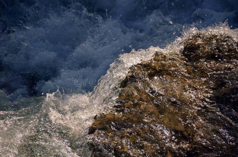 Ορμητικά σημεία ποταμού ποταμών Niagara στοκ φωτογραφίες με δικαίωμα ελεύθερης χρήσης