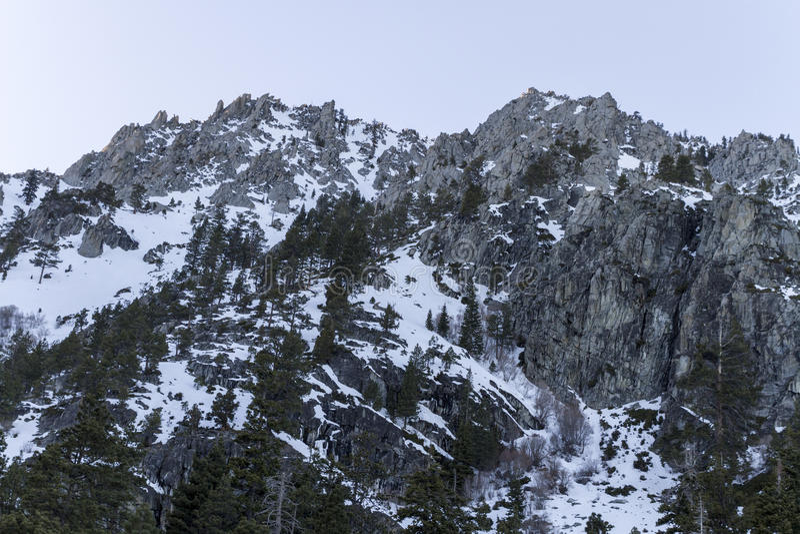 Οροσειρά αιχμές Neveda στοκ φωτογραφίες
