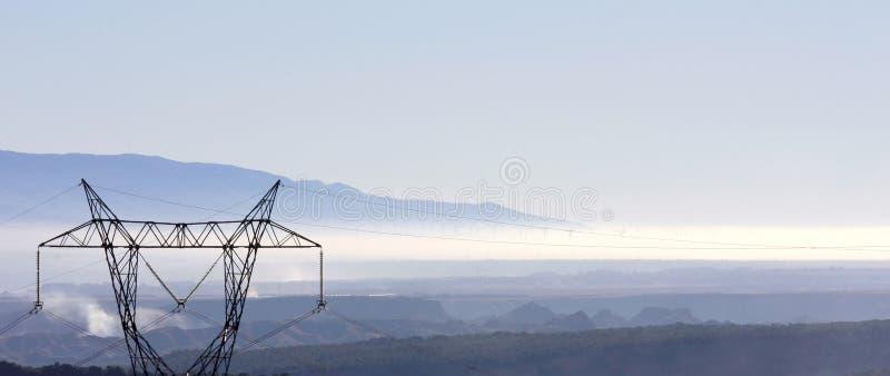 οροσειρά ανεμόμυλοι της Νεβάδας ομίχλης της Ανδαλουσίας στοκ φωτογραφία με δικαίωμα ελεύθερης χρήσης