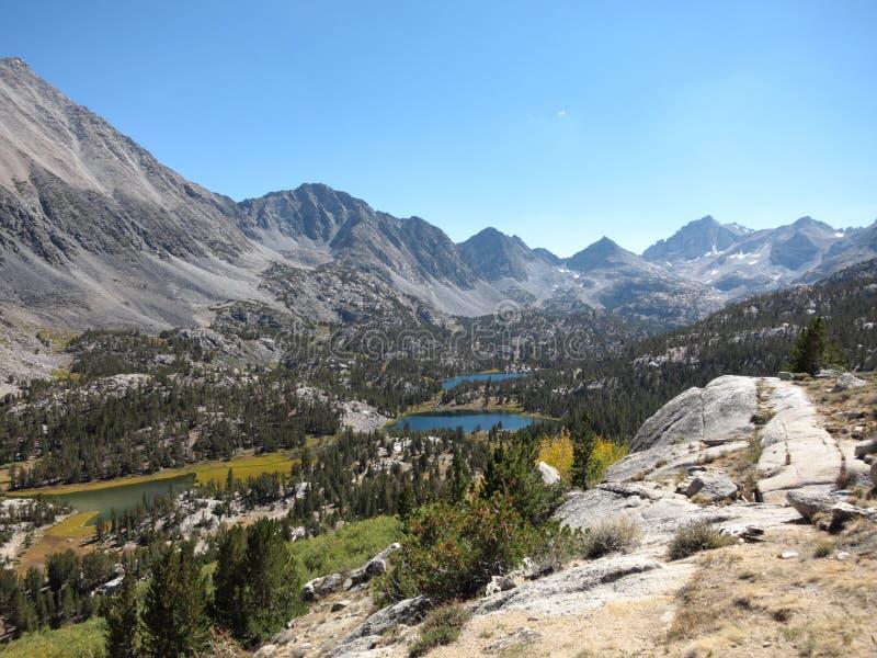 Οροσειρά βουνά, Καλιφόρνια στοκ εικόνα με δικαίωμα ελεύθερης χρήσης