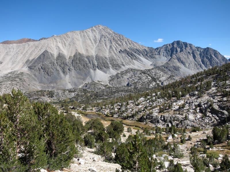 Οροσειρά βουνά, Καλιφόρνια στοκ φωτογραφία με δικαίωμα ελεύθερης χρήσης
