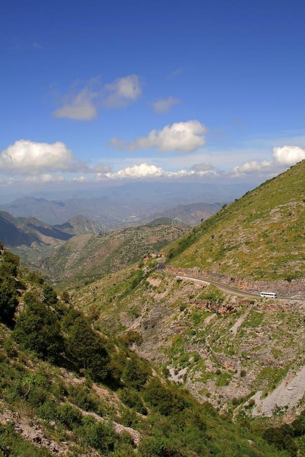 οροσειρά βουνών gorda στοκ φωτογραφία