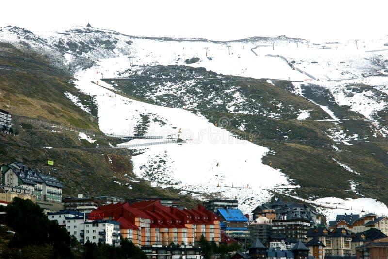 οροσειρά Ισπανία της Νεβά&d στοκ φωτογραφία με δικαίωμα ελεύθερης χρήσης