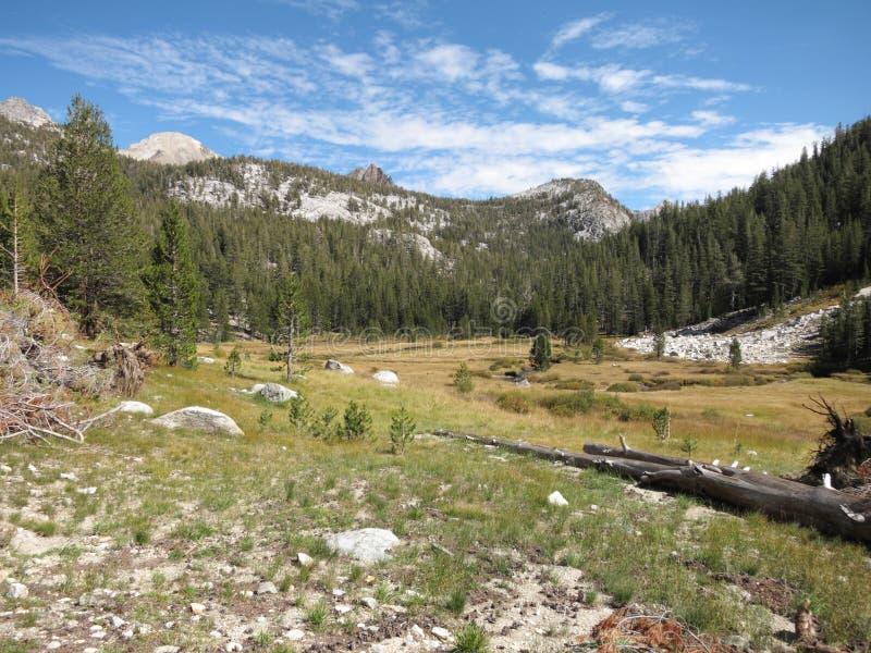 Οροσειρά λιβάδι, Καλιφόρνια στοκ εικόνα