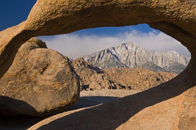 οροσειρά πέτρα της Νεβάδα&s στοκ φωτογραφία