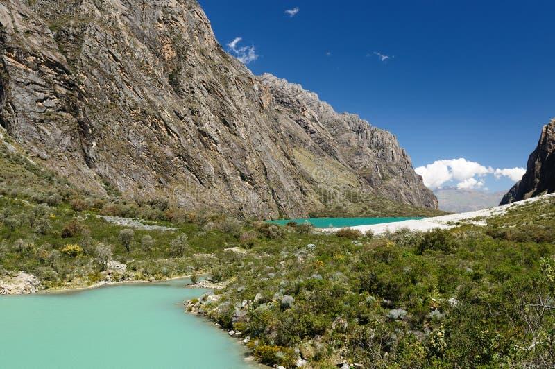 οροσειρά Περού BLANCA στοκ εικόνες με δικαίωμα ελεύθερης χρήσης