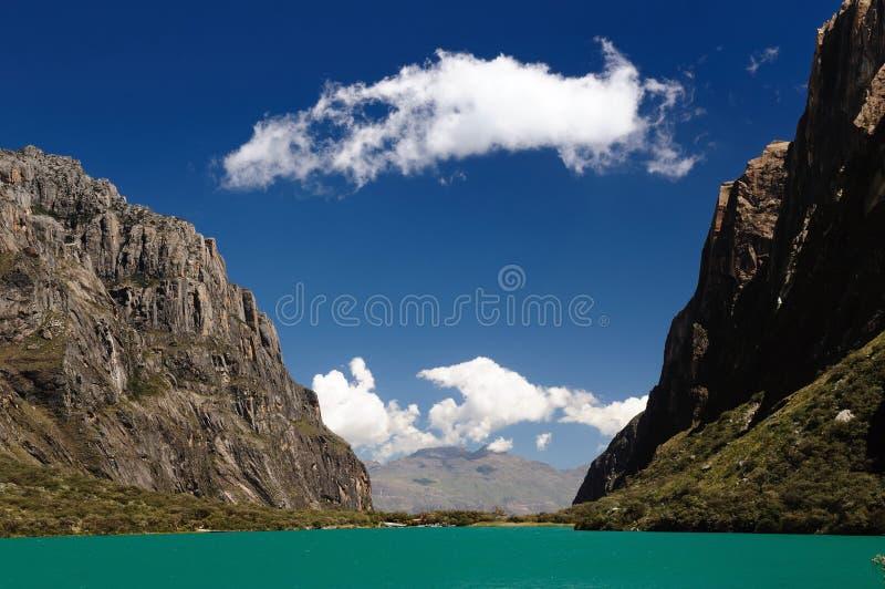 οροσειρά Περού BLANCA στοκ εικόνα με δικαίωμα ελεύθερης χρήσης