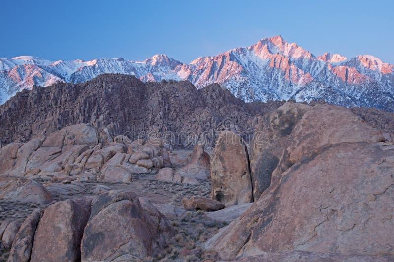 οροσειρά της Νεβάδας βο& στοκ εικόνες