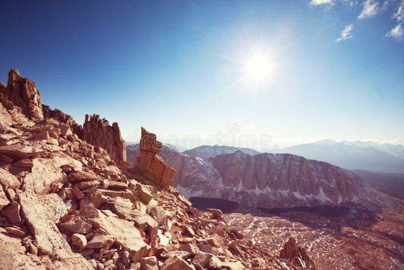 οροσειρά της Νεβάδας στοκ φωτογραφία