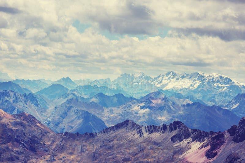 οροσειρά στοκ φωτογραφία