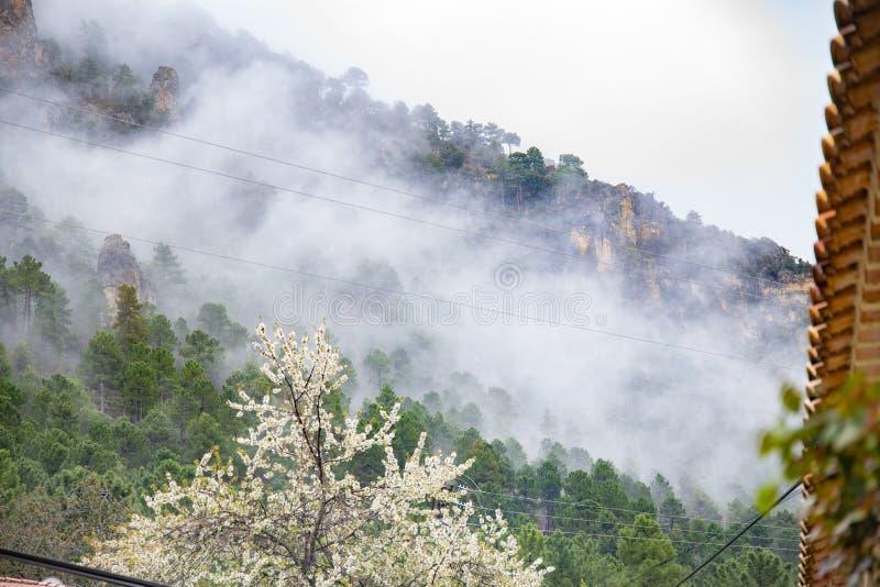 Οροσειρά del Segura Albacete, Espain Μικρό, ζωηρόχρωμο και γραφικό χωριό στην όμορφη οροσειρά del Segura, Albacete, Ισπανία στοκ εικόνα με δικαίωμα ελεύθερης χρήσης