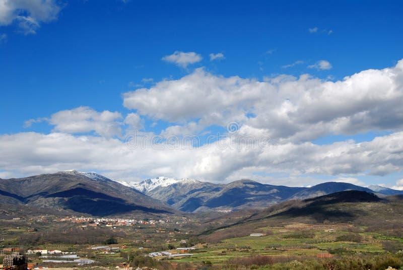 οροσειρά gredos στοκ εικόνες με δικαίωμα ελεύθερης χρήσης