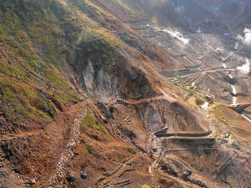 ορυκτή μεταλλεία περιοχής στοκ εικόνες με δικαίωμα ελεύθερης χρήσης