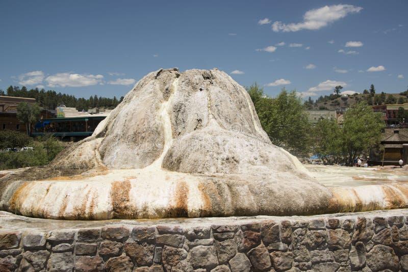 Ορυκτό καυτό φυσικό απόθεμα ελατηρίων τις ανοίξεις Pagosa, Κολοράντο, ΗΠΑ στοκ εικόνες με δικαίωμα ελεύθερης χρήσης