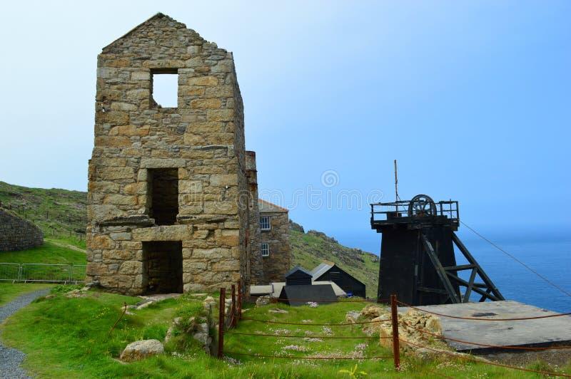 Ορυχείο κασσίτερου Levant στοκ εικόνα