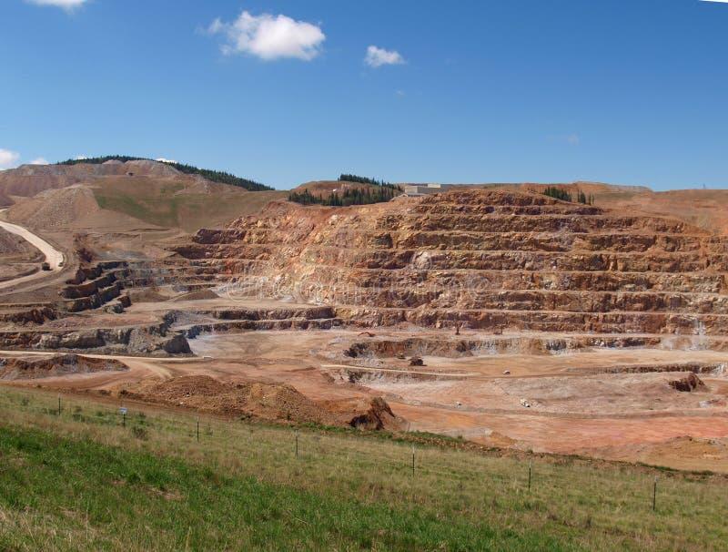 Ορυχείο χρυσού των CC και Β στοκ φωτογραφίες