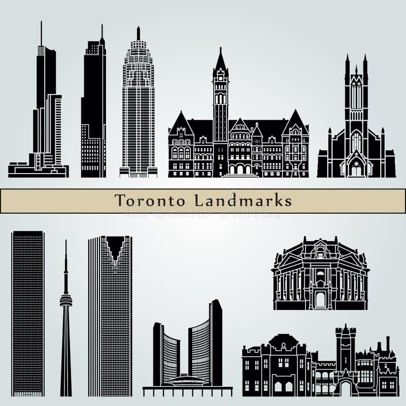 Ορόσημα και μνημεία του Τορόντου ελεύθερη απεικόνιση δικαιώματος