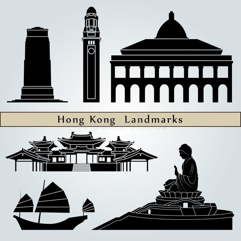 Ορόσημα και μνημεία Χονγκ Κονγκ ελεύθερη απεικόνιση δικαιώματος