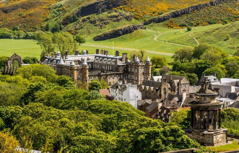 Ορόσημο του παλατιού του Εδιμβούργου - Holyrood στοκ εικόνες