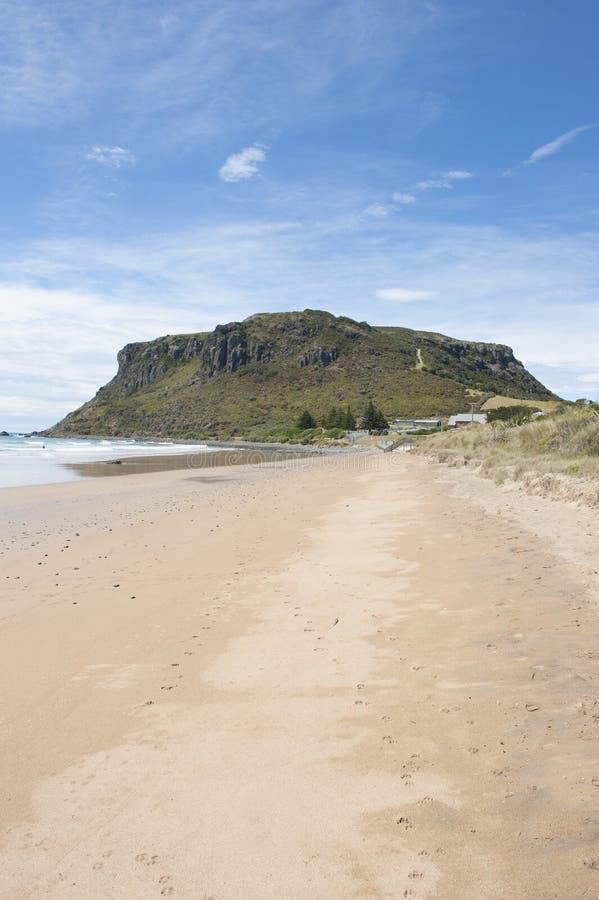 Ορόσημο του Stanley το βουνό ακτών απότομων βράχων καρυδιών στοκ φωτογραφίες
