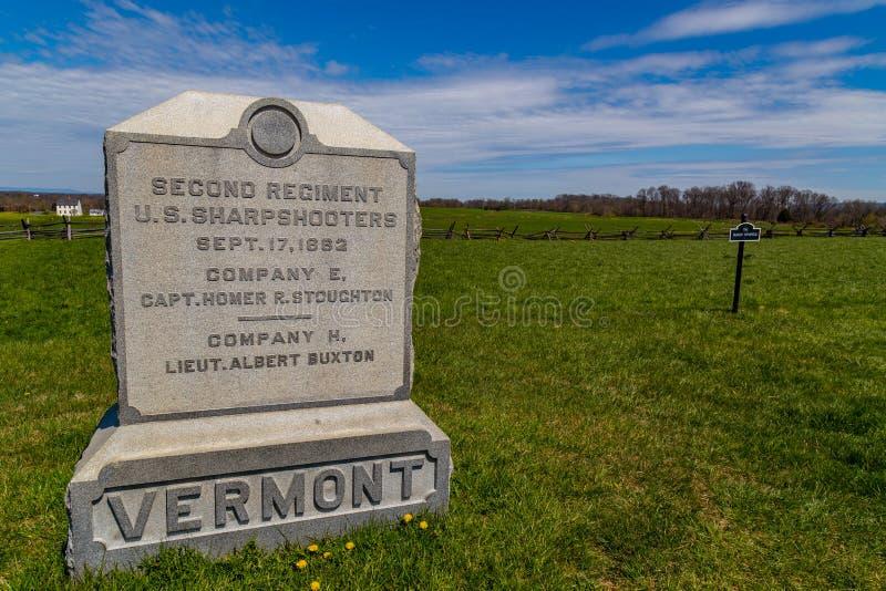 2$ος δείκτης συντάγματος του Βερμόντ στοκ εικόνα με δικαίωμα ελεύθερης χρήσης