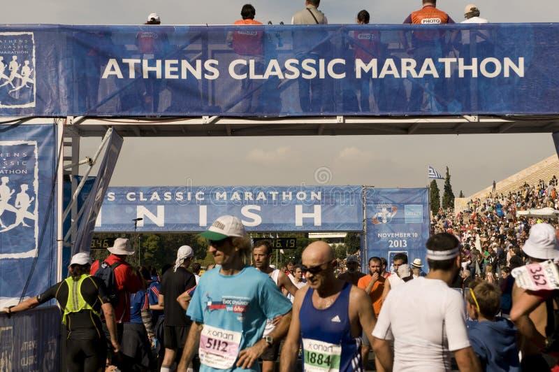 31$ος κλασικός μαραθώνιος της Αθήνας στοκ εικόνα με δικαίωμα ελεύθερης χρήσης