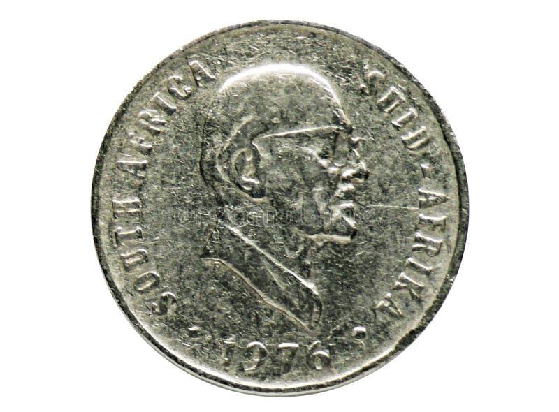 2$ος Πρόεδρος 10 σεντ Jacobus Fouché - αγγλικά - νόμισμα αφρικανολλανδικής, τράπεζα της Νότιας Αφρικής στοκ εικόνες