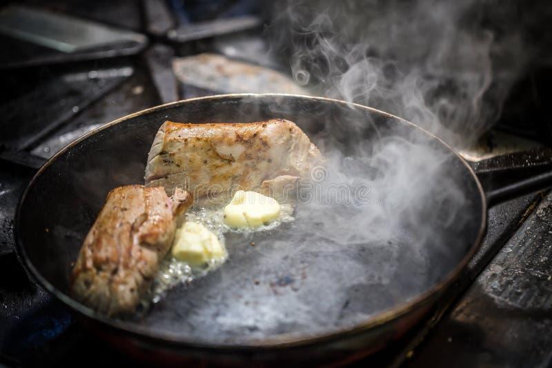 Οσφυϊκή χώρα του χοιρινού κρέατος στοκ εικόνες