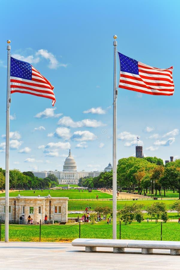 Ουάσιγκτον, ΗΠΑ, Ηνωμένες Πολιτείες Capitol, αποκαλούμενο συχνά Capitol στοκ εικόνες με δικαίωμα ελεύθερης χρήσης