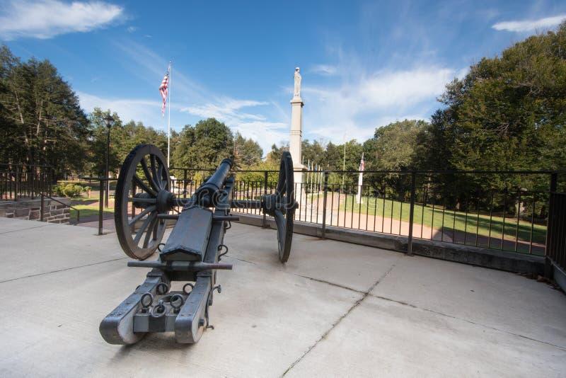Ουάσιγκτον που διασχίζει το ιστορικό πάρκο, Πενσυλβανία, ΗΠΑ στοκ φωτογραφία