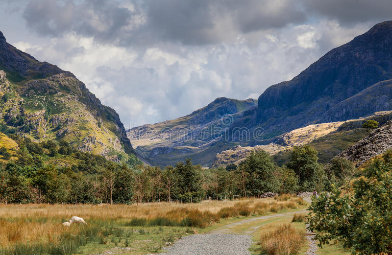 Ουαλλέζικα βουνά στοκ φωτογραφία με δικαίωμα ελεύθερης χρήσης
