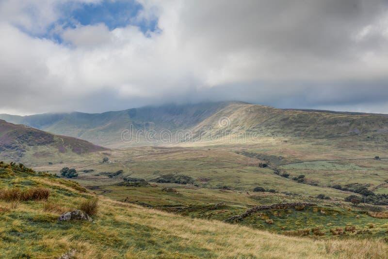 Ουαλλέζικα βουνά στοκ φωτογραφίες με δικαίωμα ελεύθερης χρήσης