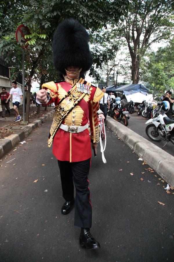 Ουαλλέζικη φρουρά στην Ινδονησία στοκ φωτογραφία με δικαίωμα ελεύθερης χρήσης