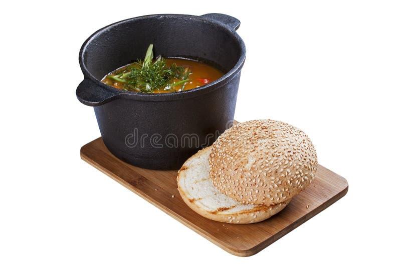 Ουγγρική goulash σούπα στοκ εικόνες