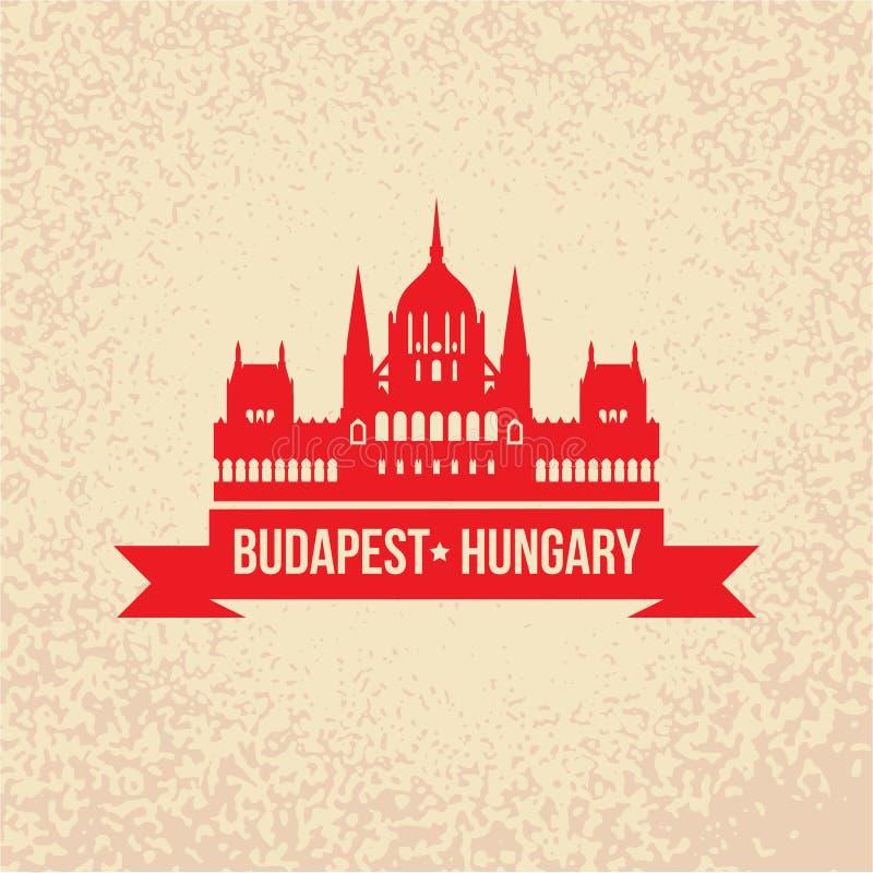 Ουγγρικό κτήριο του Κοινοβουλίου Το σύμβολο της Βουδαπέστης, Ουγγαρία ελεύθερη απεικόνιση δικαιώματος