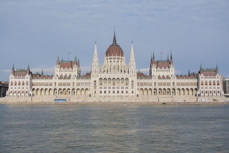 Ουγγρικό κτήριο του Κοινοβουλίου στοκ εικόνες