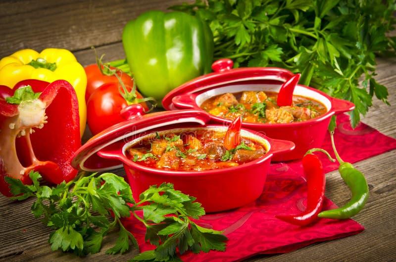 Ουγγρικό goulash στοκ φωτογραφία