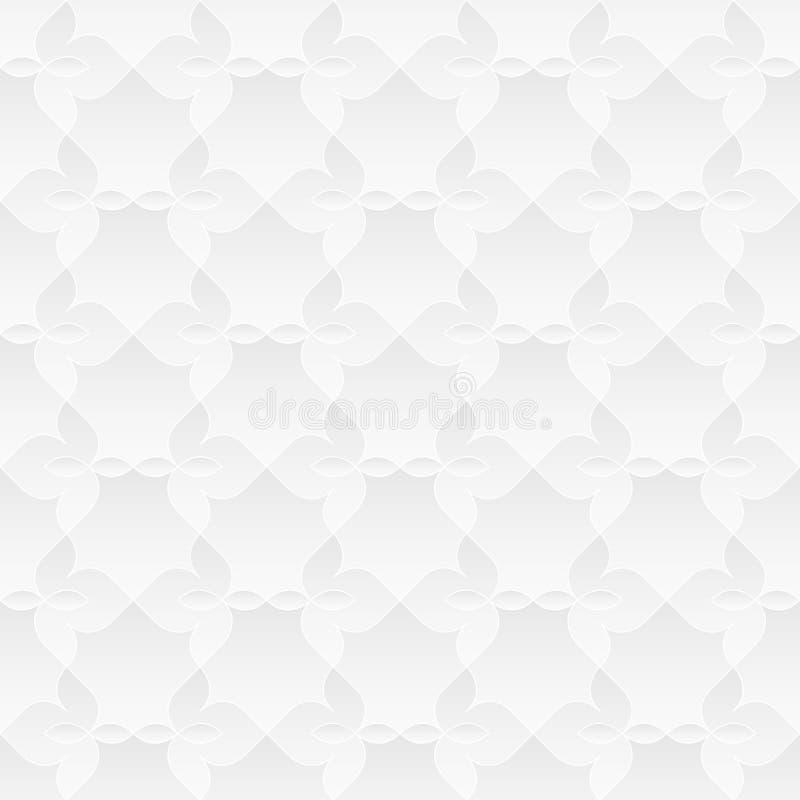 Ουδέτερη άσπρη Floral σύσταση στοκ εικόνες με δικαίωμα ελεύθερης χρήσης