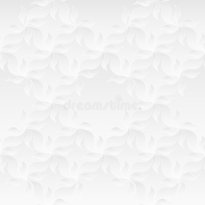Ουδέτερη άσπρη Floral σύσταση στοκ φωτογραφία με δικαίωμα ελεύθερης χρήσης