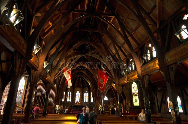 Παλαιά ST Pauls εκκλησία του Ουέλλινγκτον στοκ εικόνες