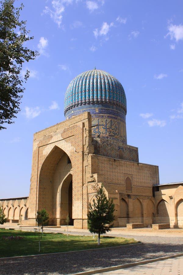 Ουζμπεκιστάν, Σάμαρκαντ shah-ι-Zinda σύνθετο στο Σάμαρκαντ στοκ εικόνες με δικαίωμα ελεύθερης χρήσης
