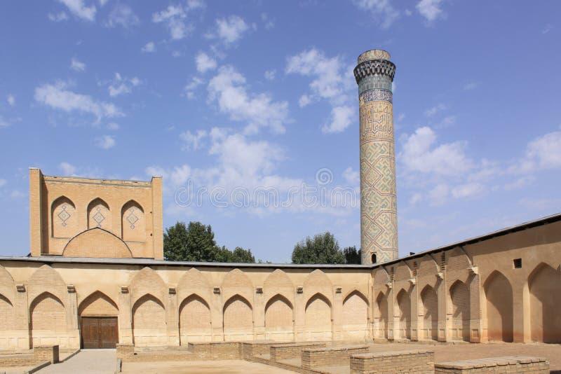 Ουζμπεκιστάν, Σάμαρκαντ shah-ι-Zinda σύνθετο στο Σάμαρκαντ στοκ φωτογραφία