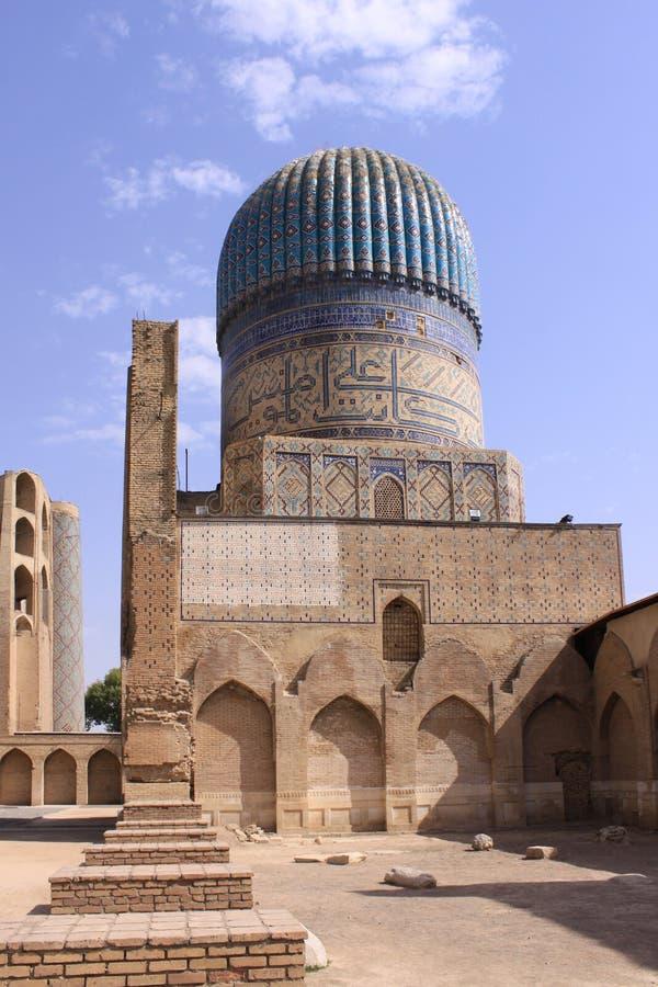 Ουζμπεκιστάν, Σάμαρκαντ shah-ι-Zinda σύνθετο στο Σάμαρκαντ στοκ φωτογραφία με δικαίωμα ελεύθερης χρήσης