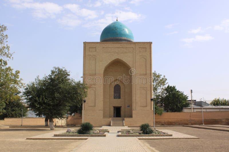 Ουζμπεκιστάν, Σάμαρκαντ shah-ι-Zinda σύνθετο στο Σάμαρκαντ στοκ εικόνα