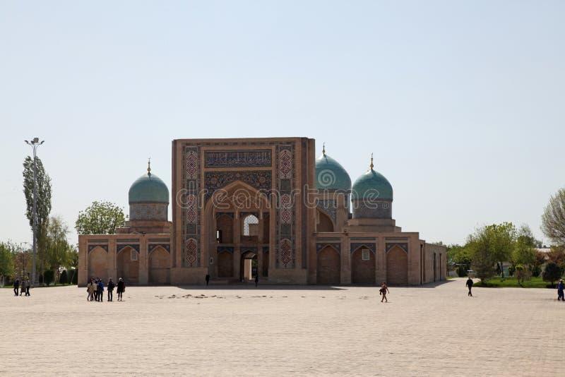 Ουζμπεκιστάν, Τασκένδη, μουσουλμανικό τέμενος Dzhuma στοκ εικόνα