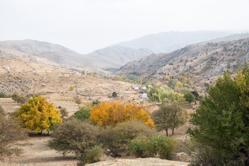 Ουζμπεκιστάν, τοπίο βουνών στοκ φωτογραφίες με δικαίωμα ελεύθερης χρήσης