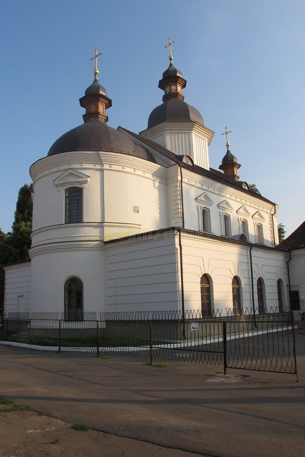 Ουκρανία Κίεβο Ναός στο Χέμ Εκκλησία στοκ φωτογραφίες με δικαίωμα ελεύθερης χρήσης